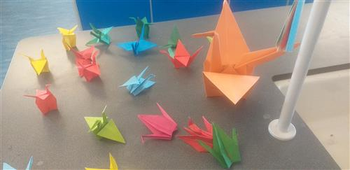 One Thousand Paper Cranes #Wellbeing